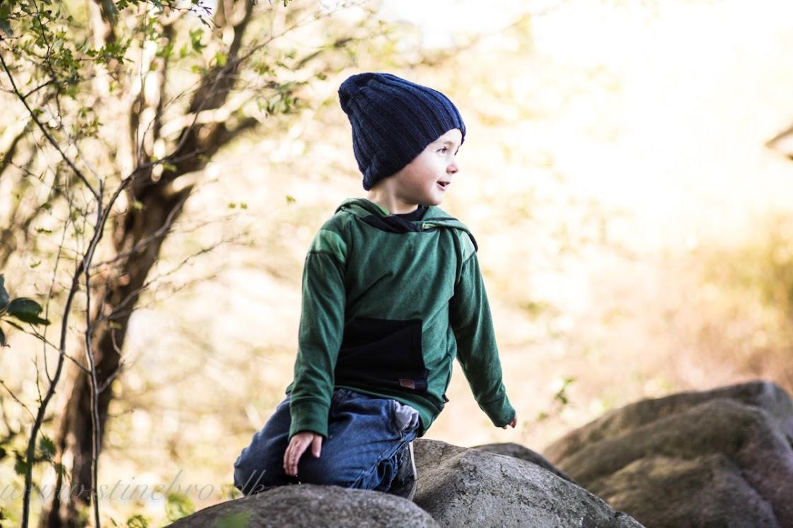Børnefotografering i naturen