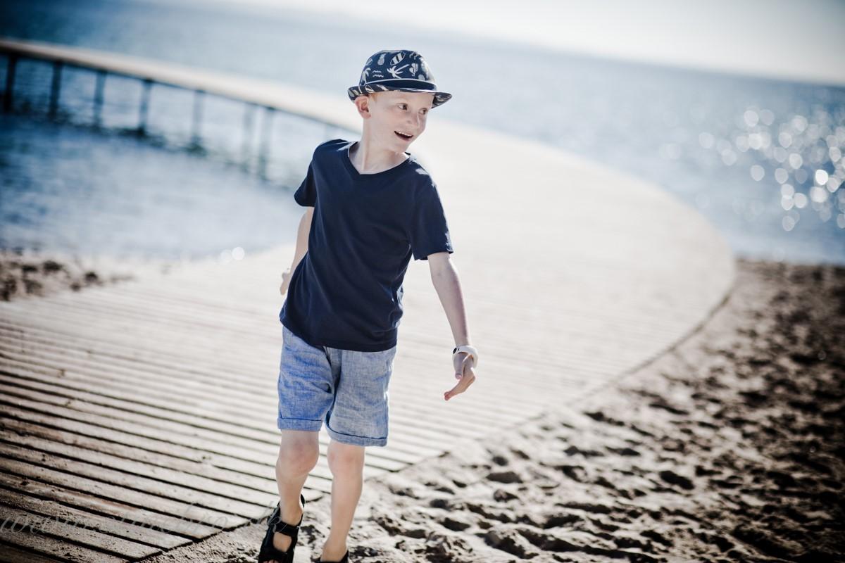 Børnefotograf i Aarhus den Uendelige bro